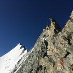Auf und ab am Weisshorn Nordgrat
