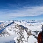 Gipfelblick Zillertaler Alpen und Hohe Tauern